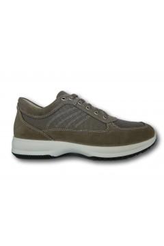 IMAC 701201 Scarpe Uomo Sneakers Stringate Made in Italy Beige Casual IMAC701201BG