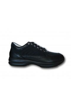 IMAC 701200 Scarpe Uomo Sneakers Stringate Made in Italy Nero Casual IMAC701200NR
