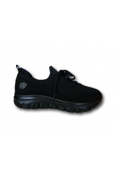 Laura Azana 24506 Scarpe Donna Sneakers Slip One Memory Foam Nero Francesine e Sneakers LA24506NR