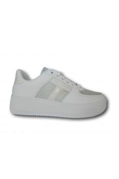Enrico Coveri 118756 Scarpe Donna Sneakers Stringate Platform Bianco Francesine e Sneakers EC11875601BIA