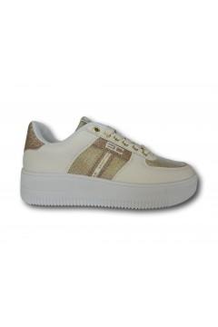 Enrico Coveri 118756 Scarpe Donna Sneakers Stringate Platform Oro Francesine e Sneakers EC11875602ORO