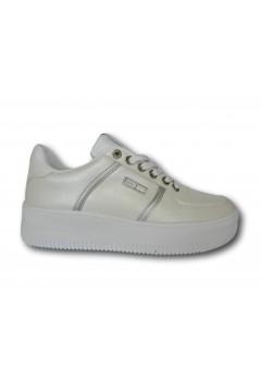 Enrico Coveri 118750 Scarpe Donna Sneakers Stringate Platform Bianco Francesine e Sneakers EC11875001BIA