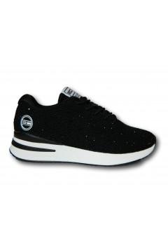 Enrico Coveri 115405 Scarpe Donna Sneakers Stringate Nero Francesine e Sneakers EC115405NR