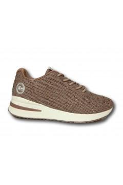 Enrico Coveri 115405 Scarpe Donna Sneakers Stringate Rosa Francesine e Sneakers EC115405RS