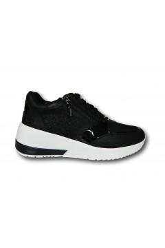 Enrico Coveri 112750 Scarpe Donna Sneakers Stringate Nero Francesine e Sneakers EC112750NR