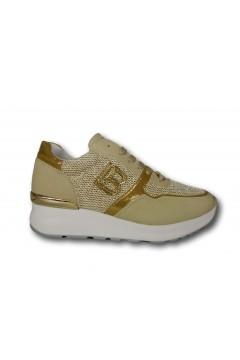 Laura Biagiotti 6716 Scarpe Donna Sneakers Stringate Beige Francesine e Sneakers LB6716BEI