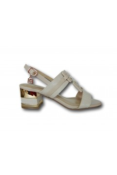 Laura Biagiotti 6750 Scarpe Donna Sandali Tacco Medio Beige Sandali LB6750BEI