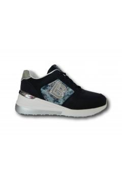 Laura Biagiotti 6711 Scarpe Donna Sneakers Stringate Blu Francesine e Sneakers LB6711BLU