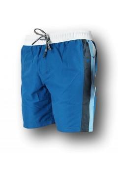 Diadora 102.177084 Beach Short Zone Costume Uomo Blu Bianco Costumi da Bagno 10217708460121