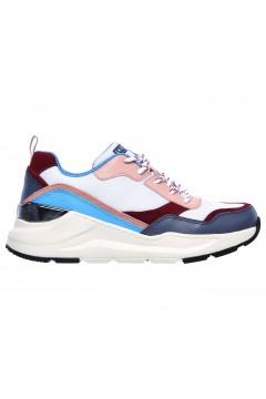 SKECHERS 155011 WBL Rovina Chic Shattering Sneakers Donna Memory Foam Multicolor Francesine e Sneakers 155011WBL