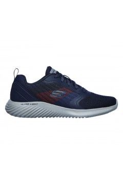 SKECHERS 232004 NVCC Bounder Verkona Scarpe Uomo Sneakers Memory Foam Blu Scarpe Sport 232004NVCC