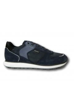 Geox U VOLTO A U029WA Sneakers Uomo Stringate Blu Sneakers UO29WAO22JYC4005BLU
