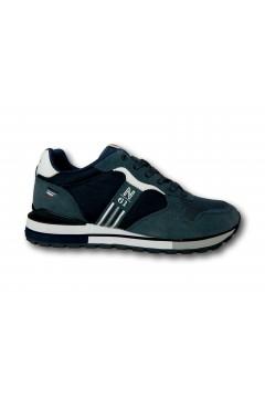 Navigare 113600 Remi 2.0 Scarpe Uomo Sneakers Memory Foam Jeans Sneakers NAM113600BLU