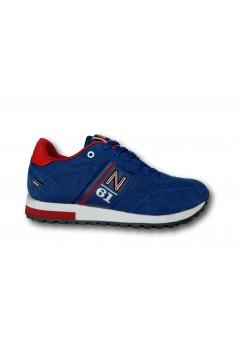 Navigare 113556 MASTER ORIGINAL Scarpe Uomo Sneakers Memory Foam Blu Sneakers NAM113556BLU