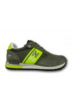 Navigare 113562 RETRO 2.0 MULTI Scarpe Uomo Sneakers Memory Foam Verde Sneakers NAM1153562VRD