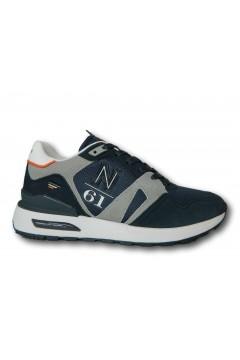 Navigare 115400 MORGAN Scarpe Uomo Sneakers Memory Foam Blu Sneakers NAM115400BLU