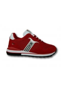 Navigare 113604 REMI 2.0 FLYKNIT Scarpe Uomo Sneakers Memory Foam Rosso Sneakers NAM113604RSS