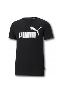 Puma 586960 Essential Youth Logo T-Shirt Bambino Nero Abbigliamento Bambino 58696001