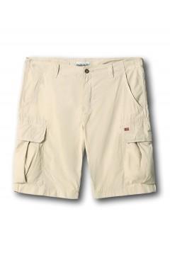 Napapijri NA4F9U Noto 4 Bermuda Uomo 6 Tasche Beige Pantaloni e Shorts NA4F9U30