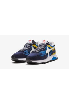 W6YZ Just Say Wizz YAK-M Sneakers Uomo Navy Yellow White Sneakers 0012015185061C49