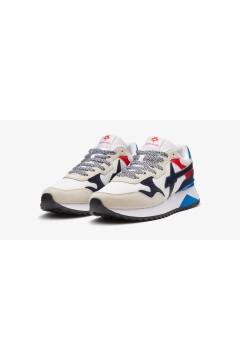 W6YZ Just Say Wizz YAK-M Sneakers Uomo White Navy Red Sneakers 0012015185011N09