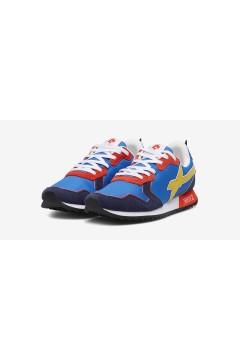 W6YZ Just Say Wizz JET-M Sneakers Uomo Navy Azzurro Rosso Sneakers 0012013560011C53