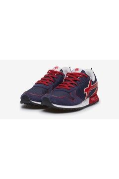 W6YZ Just Say Wizz JET-M Sneakers Uomo Navy Red Sneakers 0012013560011C23