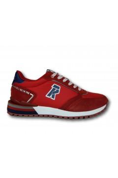 RIFLE 113715 U2 NYLON Scarpe Uomo Sneakers Rosso Sneakers RFM113715RSS