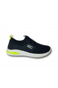 Enrico Coveri 116710 Scarpe da Ginnastica Bambino Slip On Blu Scarpe Bambino EC116710BLU