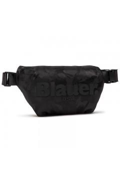 Blauer Carter 05 Marsupio Unisex 28 x 17 x 8 cm Nylon Camouflage Nero  Borse e Tracolle CARTER05NR