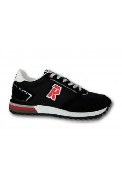 RIFLE 113715 U2 NYLON Scarpe Uomo Sneakers Nero Sneakers RFM113715NR