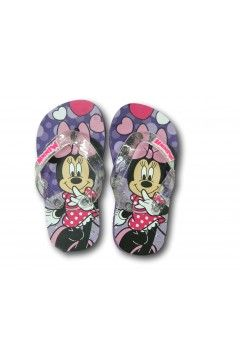 Minnie Mouse MPP804699 Ciabatte Bambina Infradito Mare Piscina Casa Minnie Viola Scarpe Bambina EA804699VL