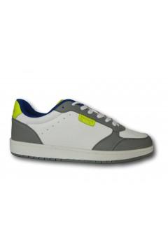 Trussardi 77A00354 SNK DUNK MIX Sneakers Uomo Bianco Grigio Giallo Sneakers 77A00354SNKDUNKMIX