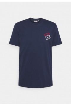 Fila 683277 Men Janto Graphic Tee T-Shirt Uomo Manica Corta Blu T-Shirts FL683277170