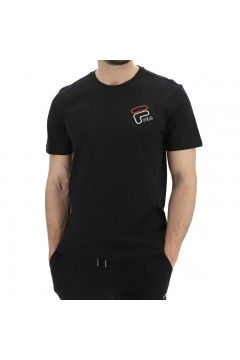 Fila 683277 Men Janto Graphic Tee T-Shirt Uomo Manica Corta Nero T-Shirts FL683277002