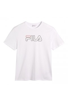 Fila 687137 Paul Tee T-Shirt Uomo Manica Corta Bianco T-Shirts FL687137M67