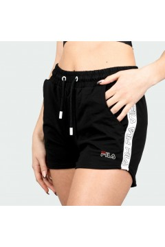 Fila 683290 Jadiana Taped Shorts Donna Nero Pantaloni e Shorts FL683290002
