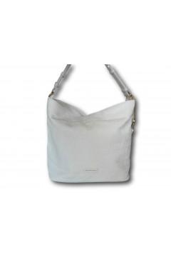 Naj-Oleari 61468 Cuore 2 Borsa Donna Monospalla con Tracolla Bianco Borse 61468C2BIA