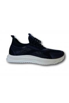 ROCCOBAROCCO RB212.3 Scarpe Uomo Sneakers Stringate Blu Sneakers RB2123BLU