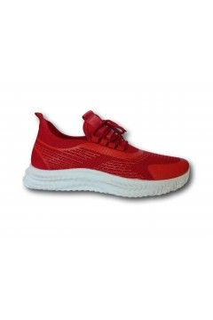 ROCCOBAROCCO RB212.4 Scarpe Uomo Sneakers Stringate Rosso Sneakers RB2124RSS