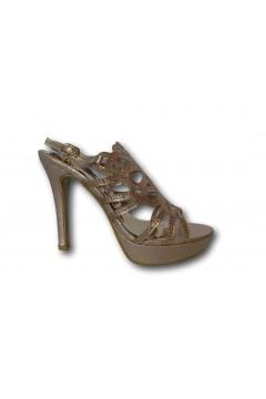 MARTA MARZOTTO NA567A4 Sandali Donna Tacco Alto con Cinturino Rosa Gold Sandali MMNA567A4