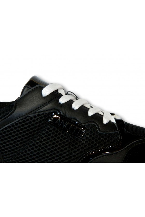 LANCETTI 83512 Sneakers Donna Platfoarm Stringate Nero Francesine e Sneakers LT83512SDN