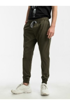 LTB 47015 REGIDA Pantaloni Pantalaccio Uomo in Cotone Verde Pantaloni e Shorts LTB47015VR