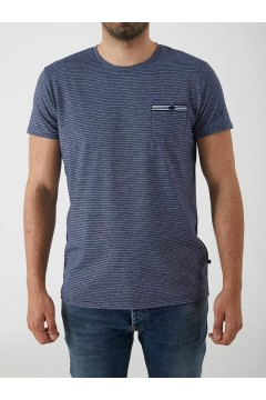 LTB 84117 DIWEZO T-Shirt Uomo in Cotone con Taschino Blu T-Shirts LTB84117BLU