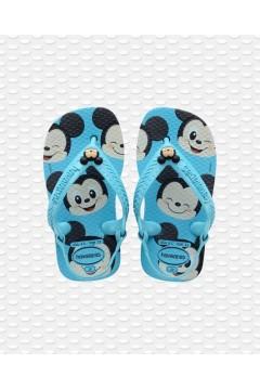 Havaianas Baby Disney Classics 4137007 Infradito con Elastico Blu Scarpe Bambino 41370070031