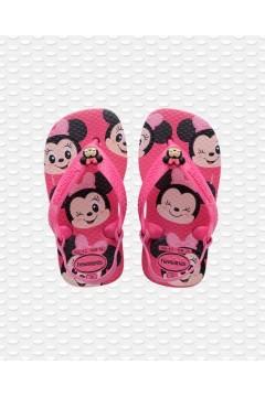 Havaianas Baby Disney Classics 4137007 Infradito con Elastico Fuxia Scarpe Bambina 41370075784