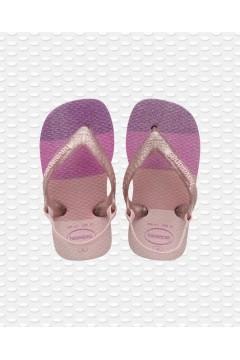 Havaianas Baby Palette Glow 4145753 Infradito con Elastico Fuxia Scarpe Bambina 41457535179