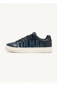 COLMAR BRADBURY CHROMATIC 055 Sneakers Uomo Stringate Blu Sneakers CLBRADBURYCHROMATIC055