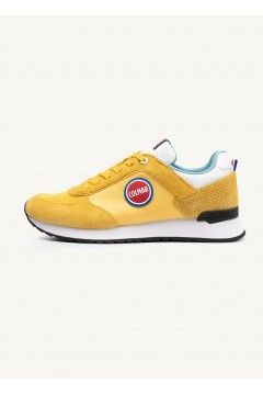 COLMAR TRAVIS BOLD 131 Sneakers Uomo Stringate Giallo Sneakers CLTRAVISBOLD131