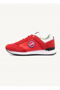COLMAR TRAVIS BOLD 132 Sneakers Uomo Stringate Rosso Sneakers CLTRAVISBOLD132